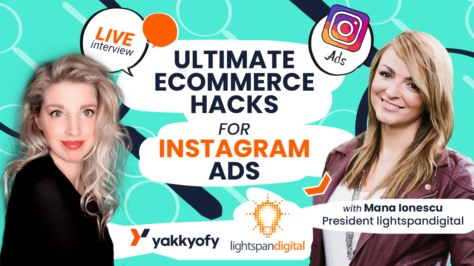 Ultimate eCommerce Hacks for Instagram Ads – LIVE with Mana Ionescu