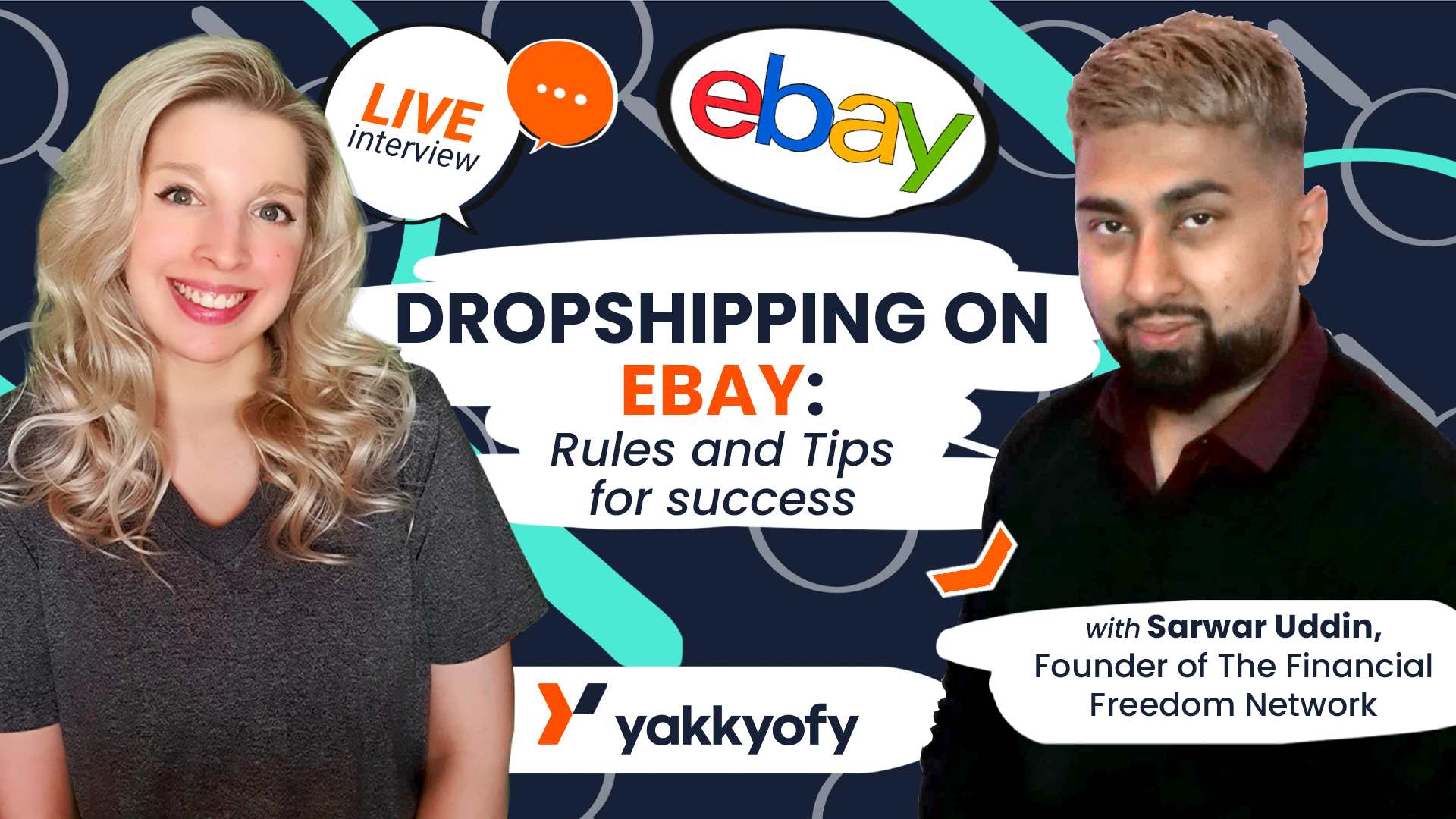 Dropshipping with eBay: terms and tips for riches – LIVE with Sarwar Uddin
