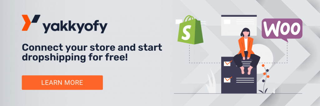 Start dropshipping with CommerceHQ in just a few clicks