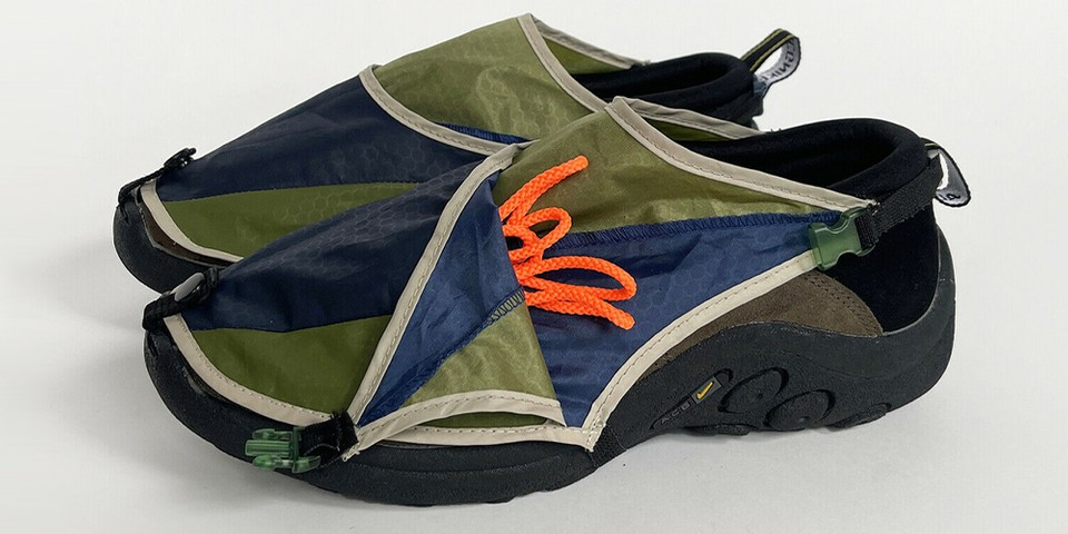 Nicole McLaughlin Is Auctioning Off 5 Upcycled Sneakers For Help group