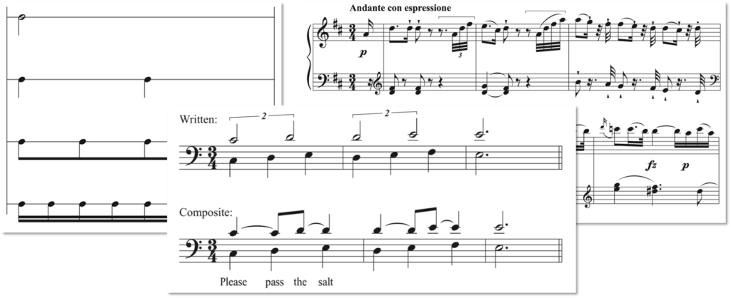 Notes or Rhythms – What's Extra Necessary?
