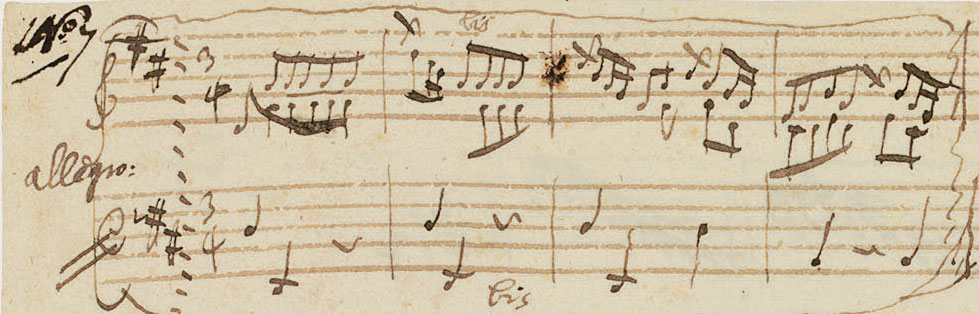 New Piano Piece by Mozart Discovered: Allegro in D K626