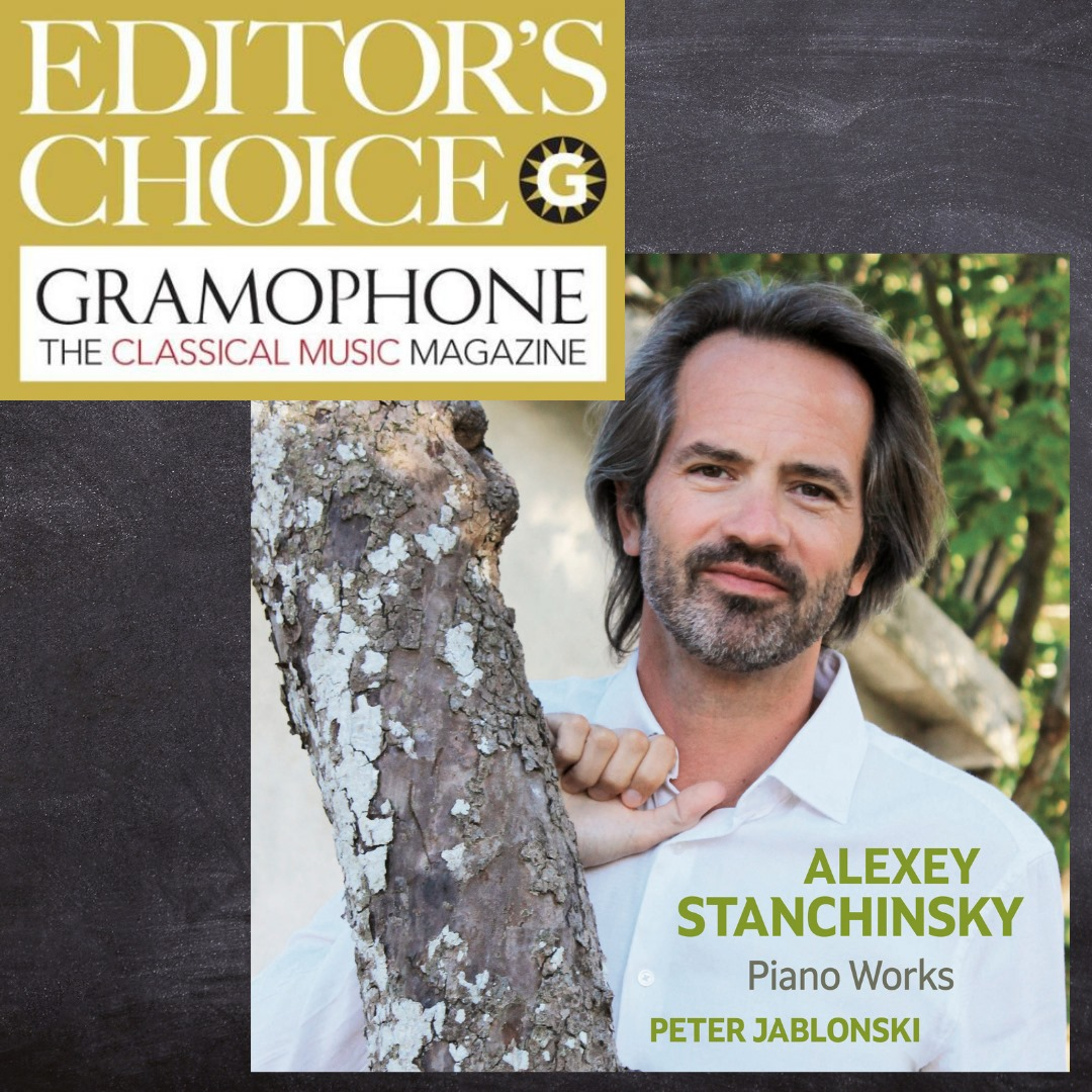 Stanchinsky is Gramophone's Editor's Choice