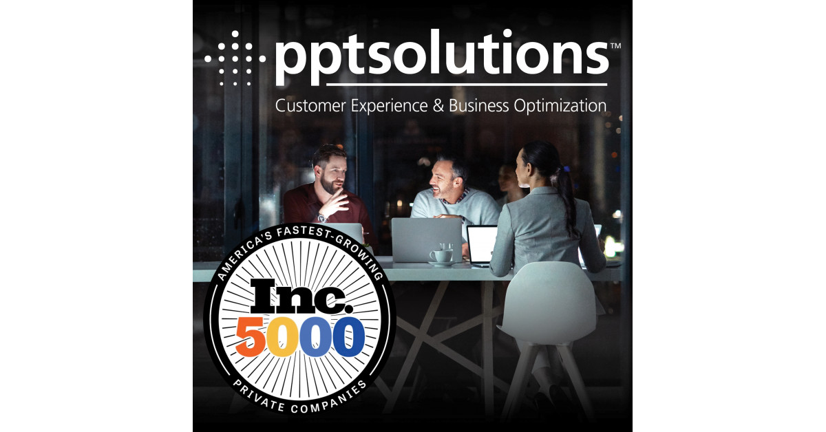 PPT Options Acknowledged as One in all America's Quickest-Rising Firms for a Fourth Consecutive 12 months