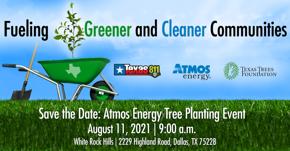 Texas Bushes Basis and Atmos Power Companion to  Have fun 811 Day and Assist Residents Safely Plant Bushes Following the Winter Storm