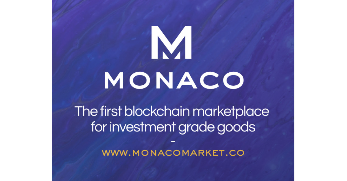 Monaco Market Launches the First NFT Market for Actual World Items