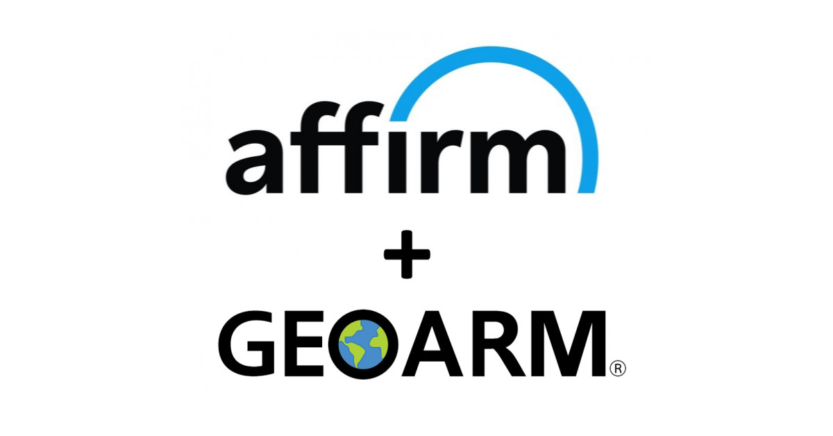 GeoArm Companions with Affirm to supply 'Purchase Now, Pay Later'