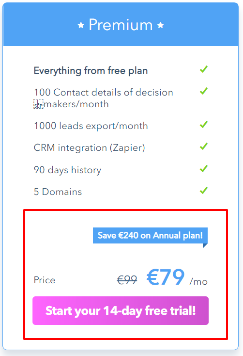 Albacross Evaluation 2021 Low cost Coupon Save Upto €240 {Particular}