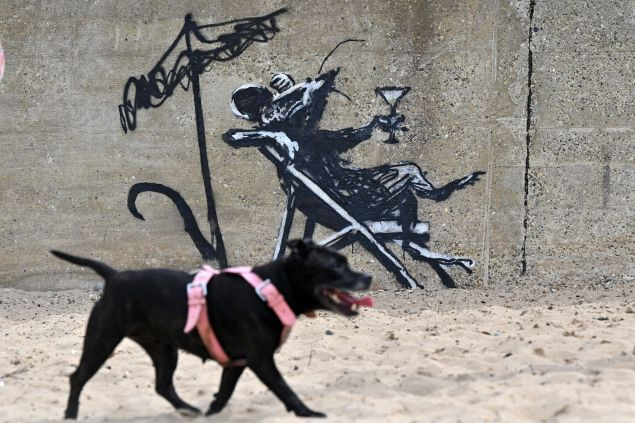 A Banksy Mural is Getting a Safety Guard After Different Artworks Have Been Defaced