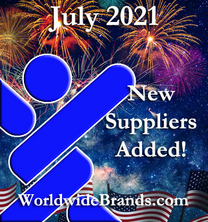 Wholesalers and Dropshippers Added in July 2021