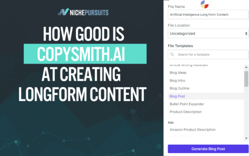 We Examined Copysmith. ai To Observe how Good It Is At Creating Longform Content material