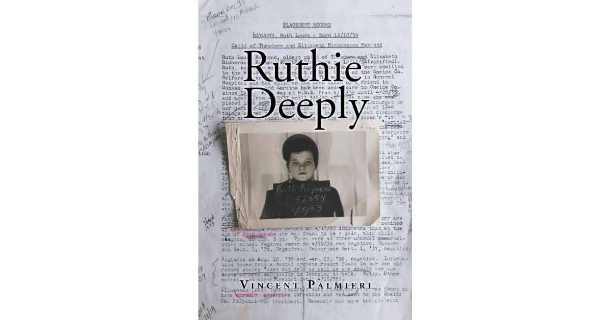 """Creator Vincent Palmieri's new ebook """"Ruthie Deeply"""" is a narrative detailing the struggles of Ruth and the life that she led."""