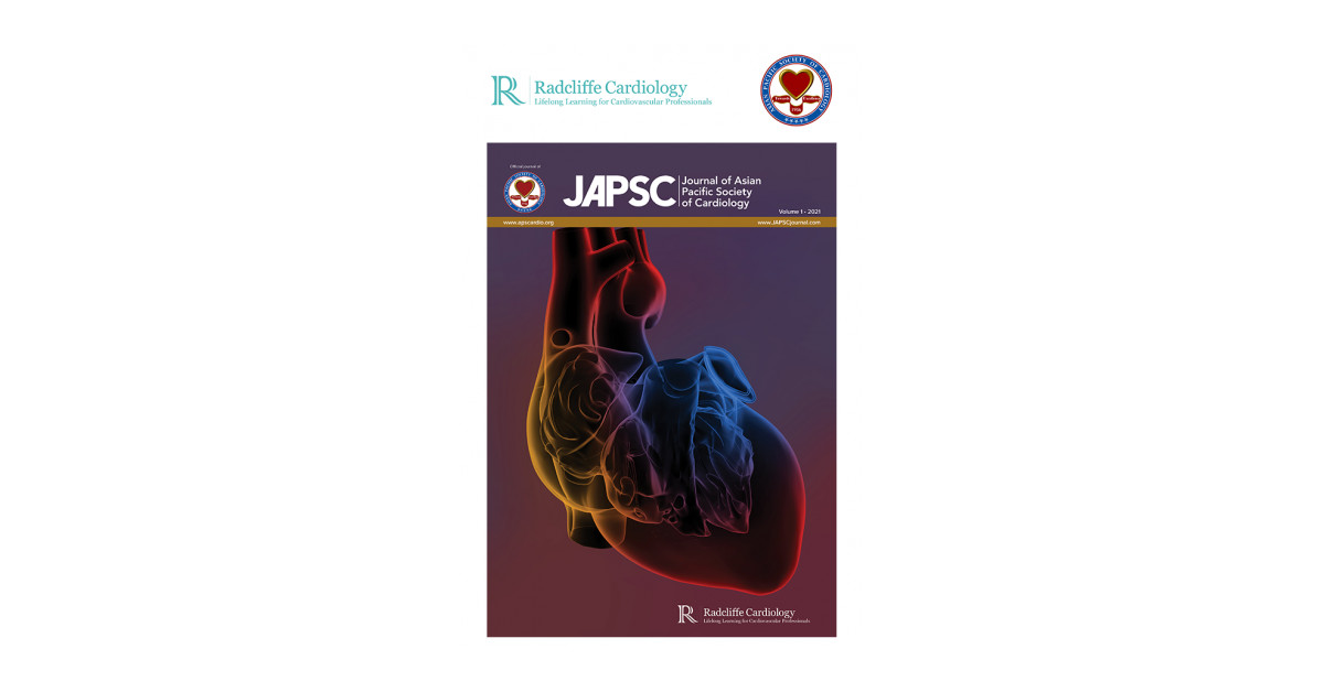 JAPSC: Journal of Arduous anodized cookware Pacific Society about Cardiology Launches and moreover Welcomes Submissions