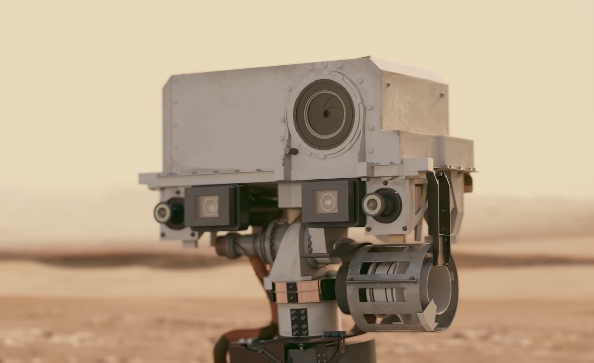 NASA's Mars rover indicators up with Google Images, kind of